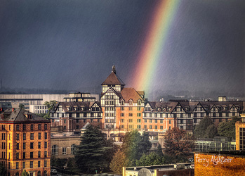 Hotel roanoke Rain and Bow