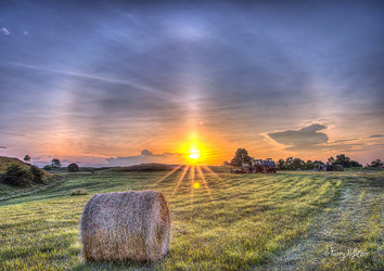 Making Hay While The Sun Shines By Terry Aldhizer