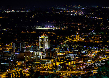 October Night Roanoke By Terry Aldhizer