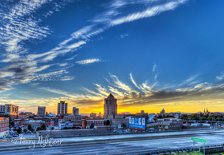 Saturday Summer Sunset Roanoke By Terry Aldhizer