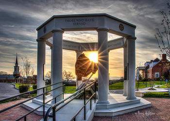 Serving Starburst - Vinton War Memorial By Terry Aldhizer